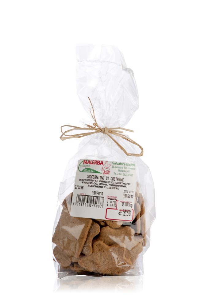 Biscotti di Farina di Castagne